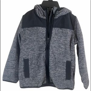 Weatherproof Hooded Full Zip Coat Gray/Black 2T